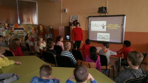 Prednáška pre žiakov ZŠ Pribinova.