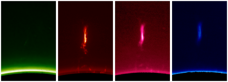 IMAGE: An eruptive prominence, observed by the CoMP-S instrument